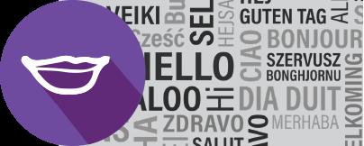 קישור לדף - הנגשת שפות